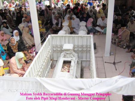 Makam Syekh Basyarudin di Gunung Munggut Pringapus